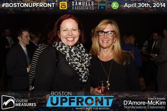 Mingling at BostonUpFront